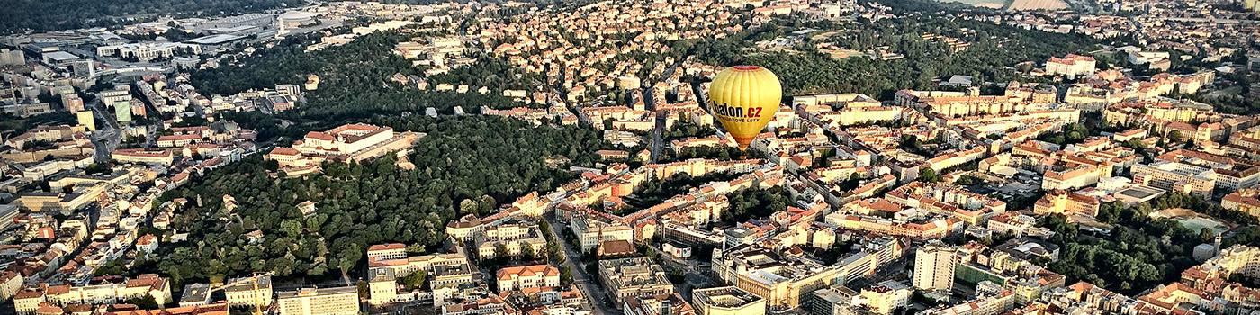 PRÉMIOVÝ let balónem, Brno