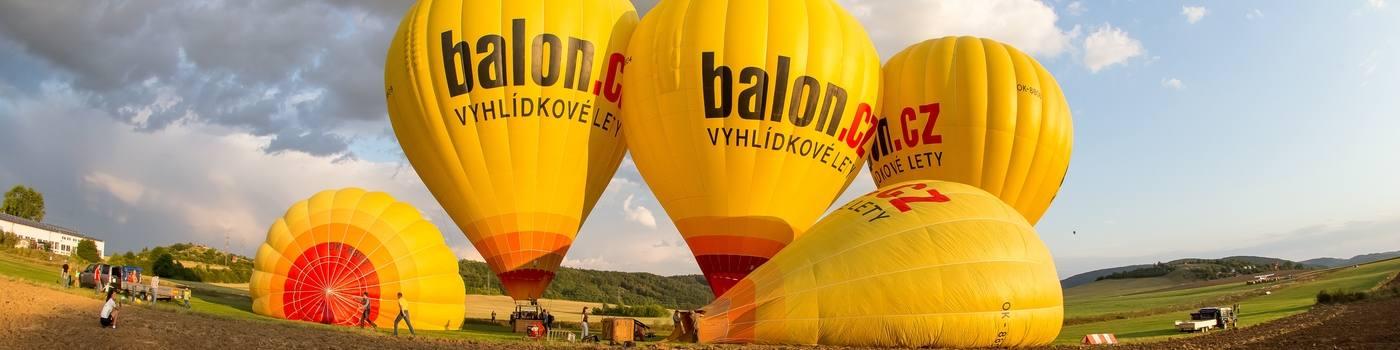 Cena a typy letu balónem