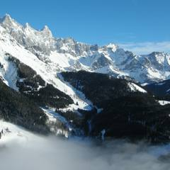Let balónem přes vrcholky Alp