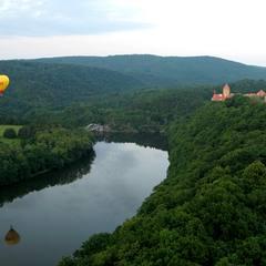PRIVÁTNÍ let balónem, Brno