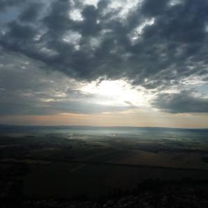 Fotky z letu balonem (21.7.2009)