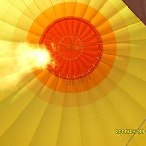 Let balonem to je bomba (30.7.2009)