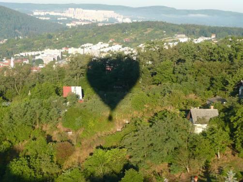 Zatmění balónem (19.8.2008)