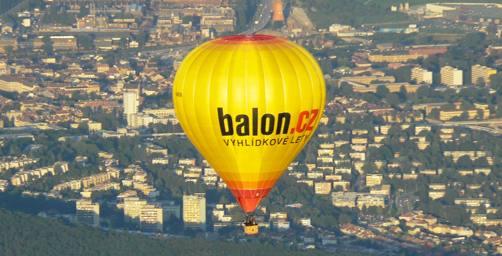 4. žlutý balón Balon.cz je tady